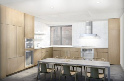 Stadt Architecture, Upper West Side Apartment II, concrete counters, Oak Veneer, Kitterman, STADT, nyc architects, ny apartment renovation