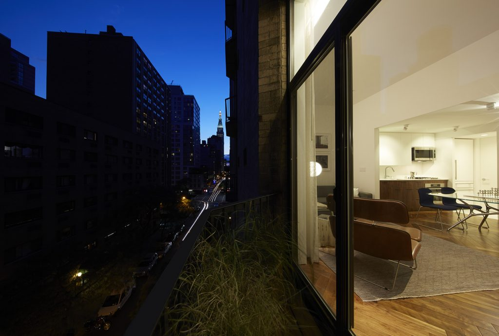STADT Architecture, Gramercy Apartment, Met Life Building, terrace, New York City, Kitterman, grasses, cappellini, STADT