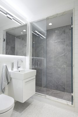 STADT Architecture, Gramercy Apartment, ABC Stone, Blue de Savoie, Duravit, STADT, nyc architects, ny apartment renovation