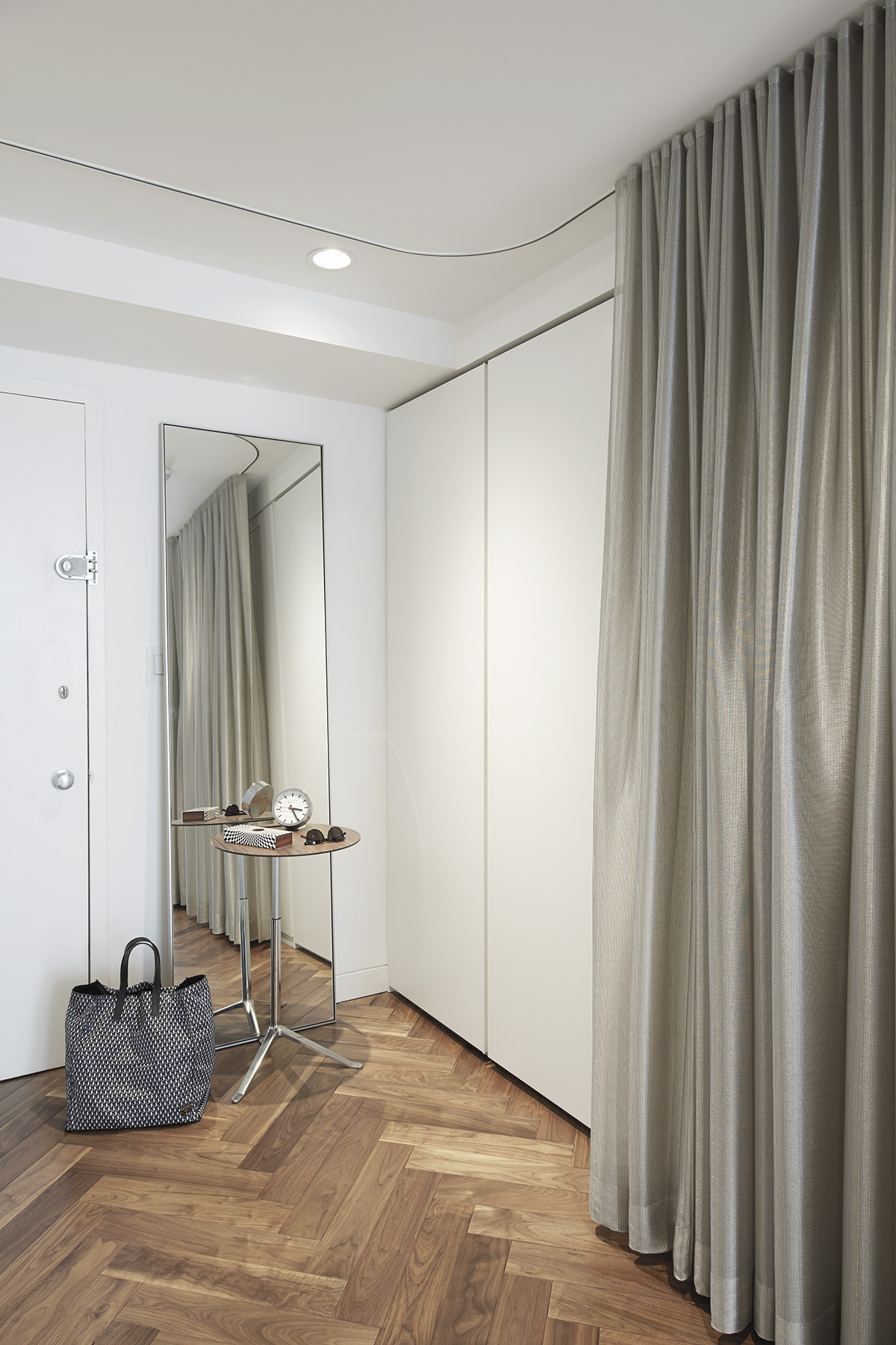 STADT Architecture, Gramercy Apartment, Little Friend, Curtain