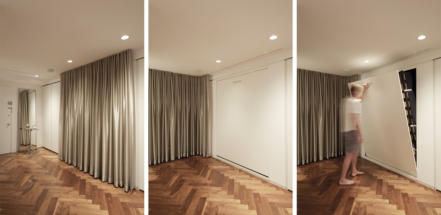 Stadt Architecture, Knoll, curtain, Hafele, Murphy Bed, STADT