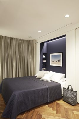 STADT Architecture, hafele, murphy bed, knoll, curtain, prada, walnut, STADT, nyc architects, ny apartment renovation