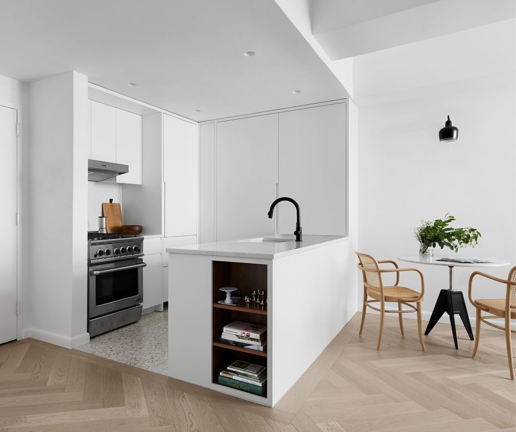 Long Island City Apartment, STADT Architecture, Custom Kitchen, Kitchen Design