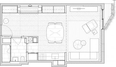 STADT Architecture, Gramercy Apartment, Floor Plan, STADT, STADT Architecture, New York City Architect, STADT, nyc architects, ny apartment renovation