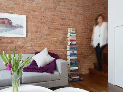 brick, stair, walnut, photography, stadt architecture, christopher kitterman, rene roupinian