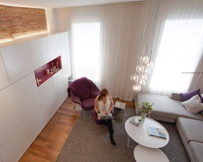 stadt architecture, upper west side apartment, walnut, sara-ny design award, rene roupinian