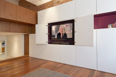 jenna maroney, cabinetry, niche, purple, stadt architecture, christopher kitterman
