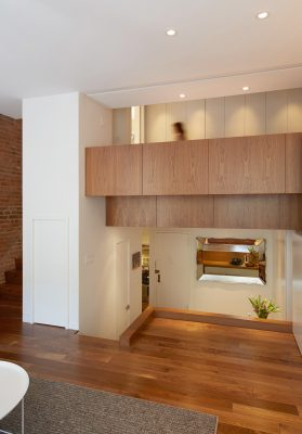 walnut, loft bed, cabinetry, stadt architecture, christopher kitterman, rene roupinian