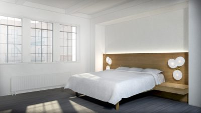 Stadt Architecture, Upper West Side Apartment II, custom bed, built-ins, Lindsey Adelman, STADT, nyc architects, ny apartment renovation
