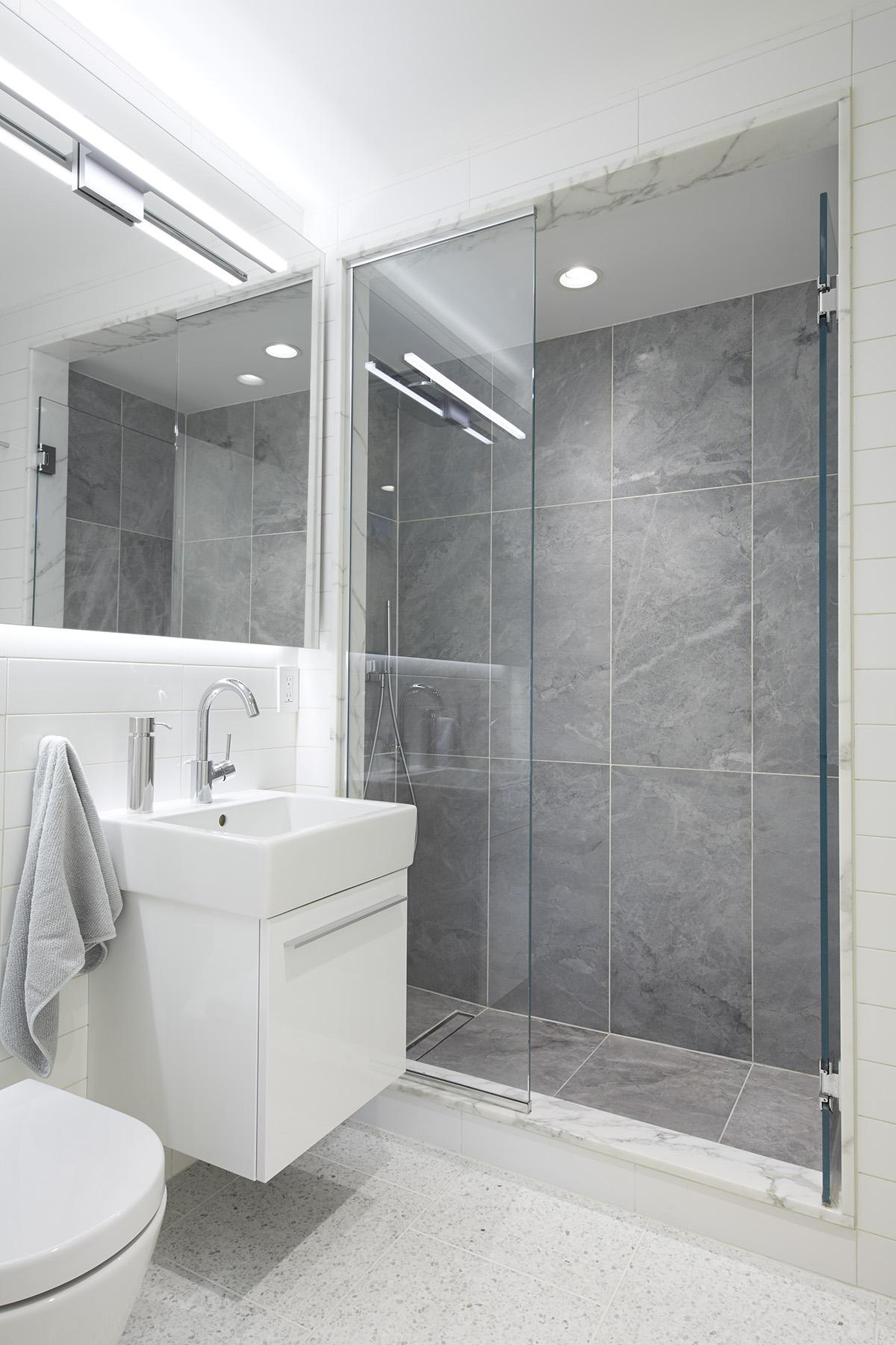 STADT Architecture, Gramercy Apartment, ABC Stone, Blue de Savoie, Duravit, STADT, nyc architects, ny apartment renovation