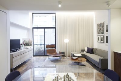 STADT Architecture, Gramercy Apartment, Cappellini, ABC Home, Walnut Floors, Glo Ball, Bob Tables, STADT, nyc architects, ny apartment renovation