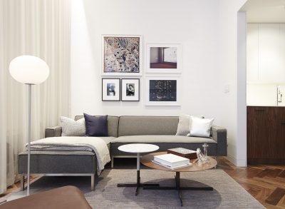 STADT Architecture, Gramercy Apartment, Cindy Sherman, Kitterman, Gus Sofa, Bob Table, STADT