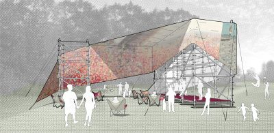 STADT Architecture, Governor's Island, Figment, Garden Shed, nyc architects